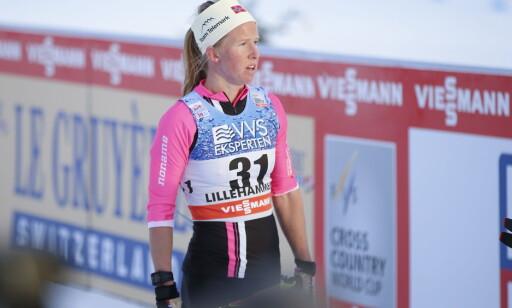 SEIER: TIl Astrid Øyre Slind. Foto: Terje Pedersen / NTB scanpix
