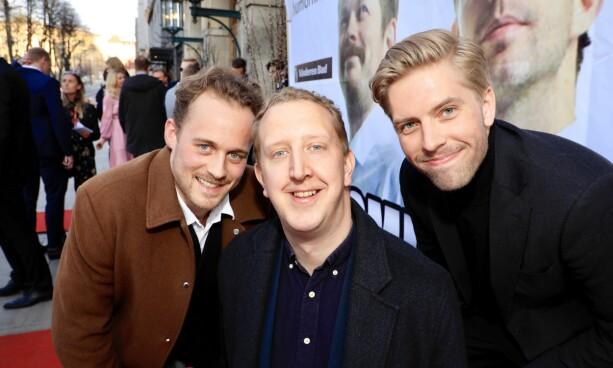 KOMPISER: Fridtjof Josefsen, Magnus Devold og Jakob Schøyen var på plass. Foto: Tor Lindseth / Se og Hør