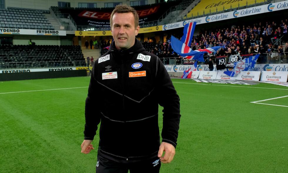 TRIUMF: Ronny Deila og Vålerenga slo Start 6-1 på Sør Arena lørdag kveld. Foto: Tor Erik Schrøder / NTB scanpix