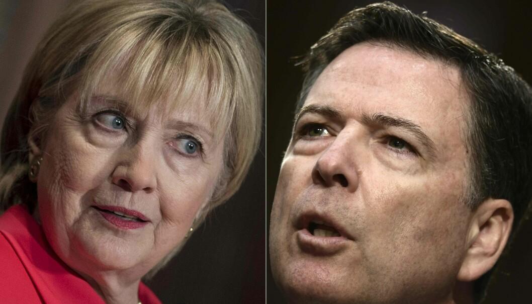 Innrømmer at FBI-etterforskning ble påvirket av at Hillary var favoritt