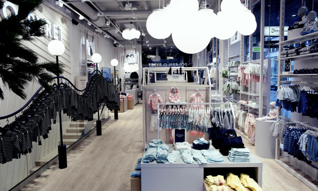 NYTT BUTIKKONSEPT: Polarn O. Pyret skal bygge om samtlige butikker i Norge. I mai står første nye butikk klar, nærmere bestemt Grensen i Oslo. Foto: Polarn O. Pyret