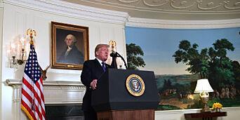 image: «Mission accomplished», sier Trump, men hvilket oppdrag har USA i Syria?