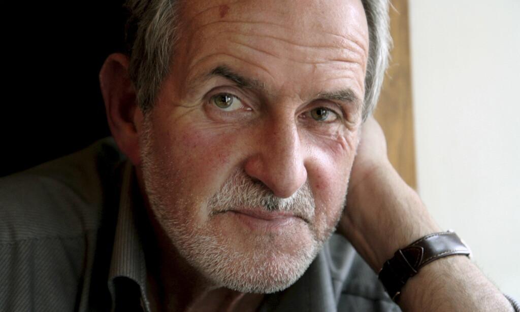 KLARTE Å FULLFØRE. Jon Michelet (1944-2018) skrev ferdig sjette og siste bind om de norske krigsseilerne en uke før han selv gikk bort etter lengre tids sykdom 14. april 2018.