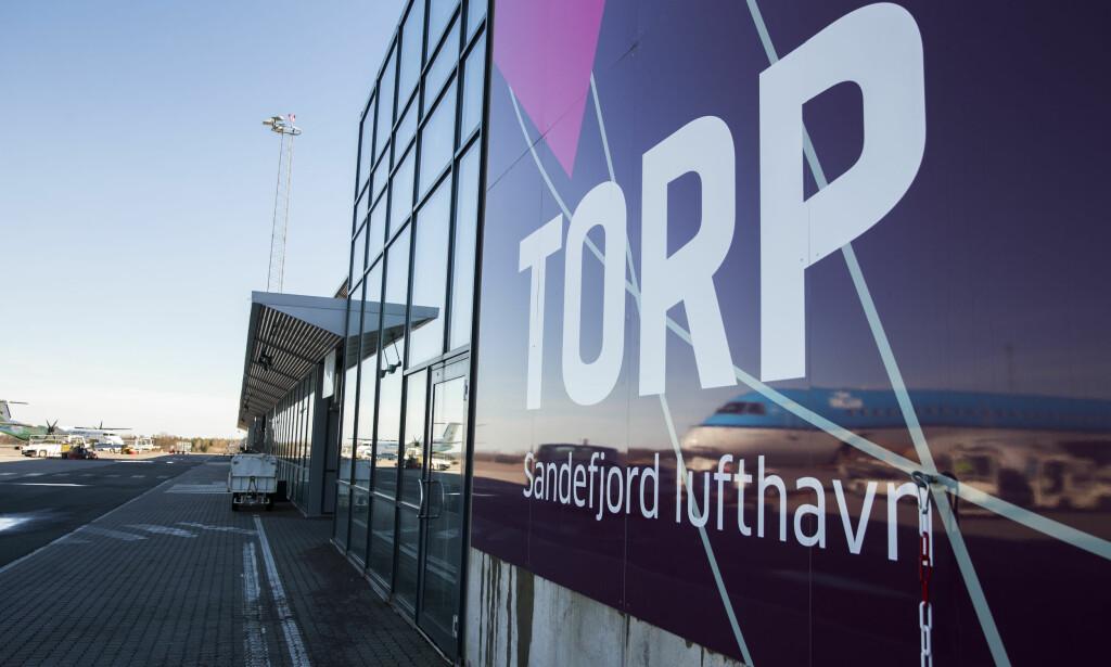 OMDIRIGERT FRA TORP: Flere fly som skulle ha landet på Torp Sandefjord lufthavn i dag måtte lande på Gardermoen. Illustrasjonsfoto: Berit Roald / NTB scanpix