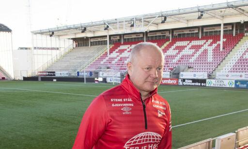 image: På tribunen er FFK allerede tilbake i Eliteserien