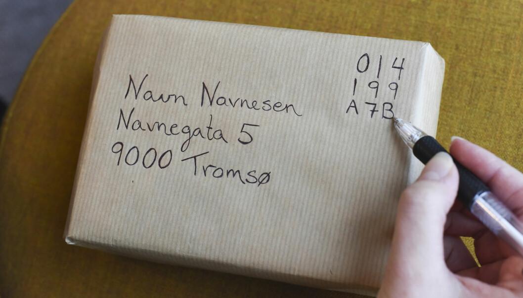 Slik kan du sende post fra din egen postkasse