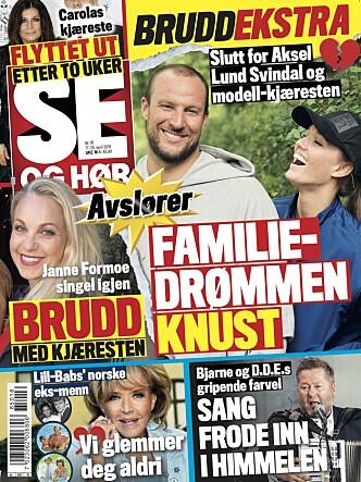 <strong>LES MER:</strong> Tirsdagens Se og Hør er i salg nå.