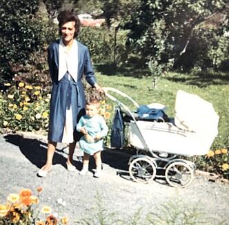 <strong>Mor og datter:</strong> Joan Ruth og Sonja Nordanger. Foto: Privat