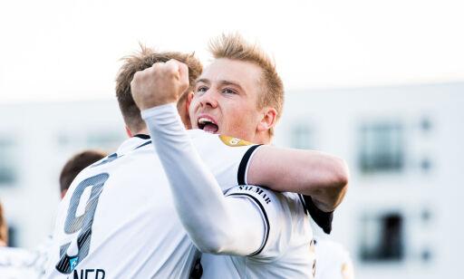 image: - Endelig er det gøy å spille fotball igjen