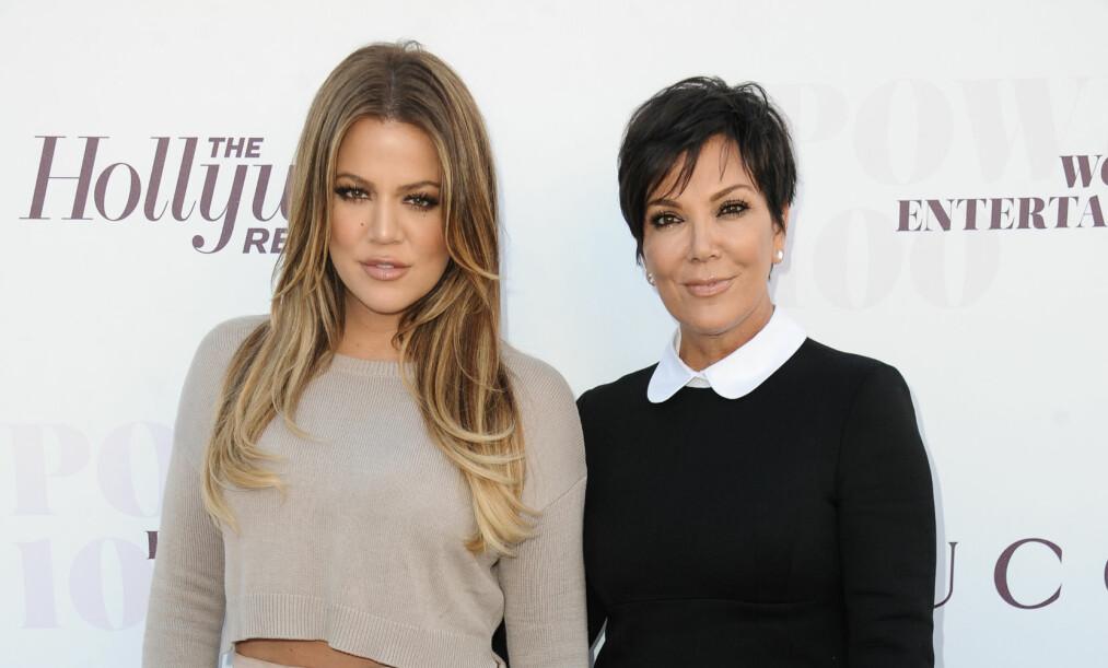 NYTT BARNEBARN: For få dager siden ble Kris Jenner bestemor igjen. Nå har 62-åringen hele ni barnebarn etter at Khloé Kardashian og Tristan Thompson ble foreldre. Foto: NTB Scanpix