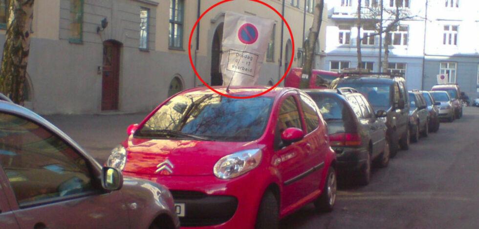 image: Nå må du passe på bilen din: Feiingen er i gang