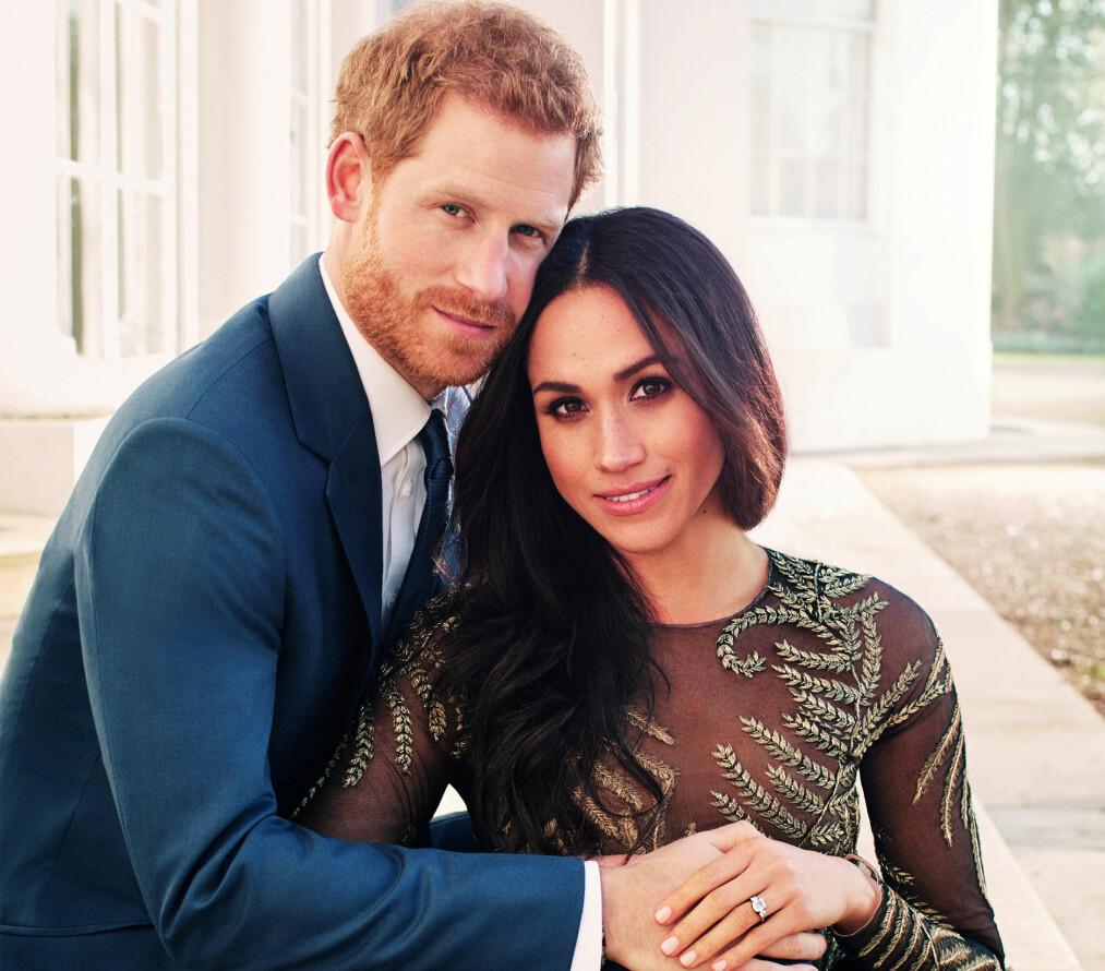 PRINS HARRY OG MEGHAN MARKLE: 19. mai gifter det lykkelig paret seg. FOTO: NTB Scanpix