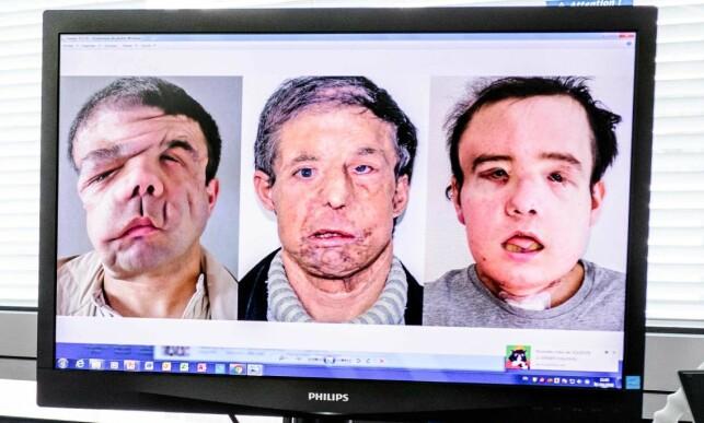 TRE: Jerome Hamon har fått tilnavnet «Mannen med tre ansikter». Foto: AFP PHOTO / Philippe LOPEZ / NTB Scanpix