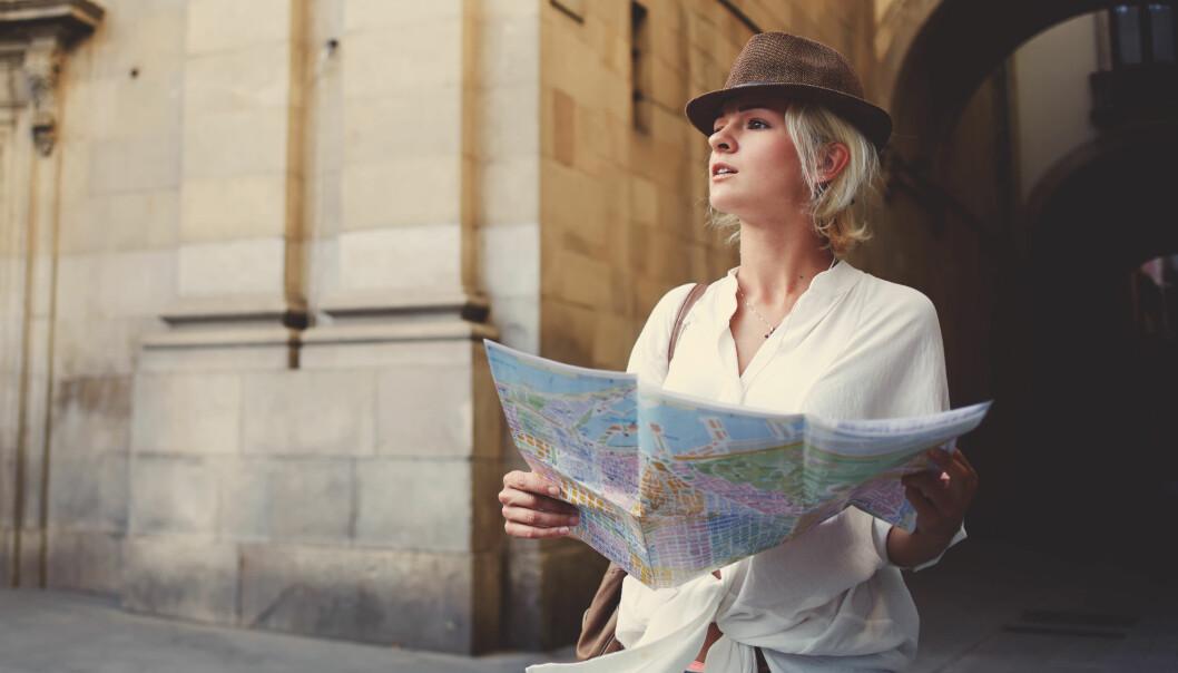 TRENING HJELPER: Av og til er det beste å legge vekk GPSen og kartet og prøve å orientere seg etter hva man ser rundt seg. FOTO: NTB Scanpix