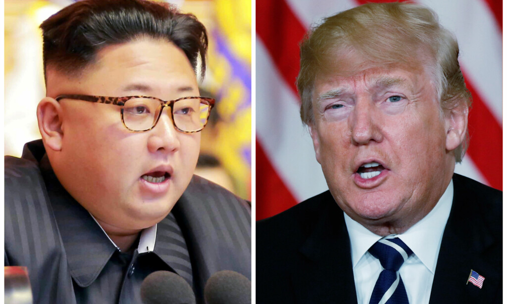 MØTETID: Møtet mellom Kim Jong Un og Donald Trump skal komme stadig nærmere. Foto: NTB Scanpix