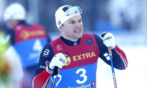 VRAKES: Håvard Solås Taugbøl flyttes ned fra sprint- til rekruttlandslaget. Foto: Terje Pedersen / NTB scanpix