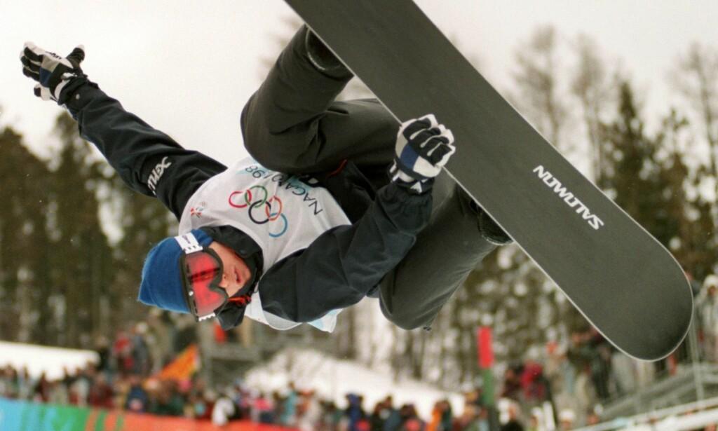 VERDENS BESTE: Daniel kjørte suverent da den første olympiske halfpipefinalen ble arrangert i Nagano. Etter dagens dommersystem ville han ha vunnet med soleklar margin. I stedet ble det en knallsterk sølvmedalje på supertalentet. Foto: NTB scanpix
