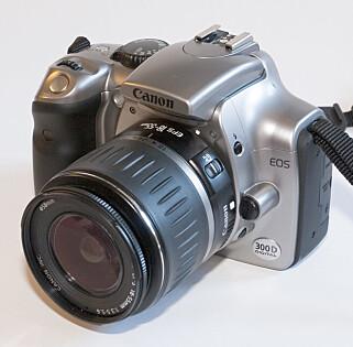 Canon EOS 300D. Foto: Wikipedia