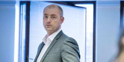image: Eriksson fikk nyheten om e-post-avsløring i avisstativet på ferie i Verdal