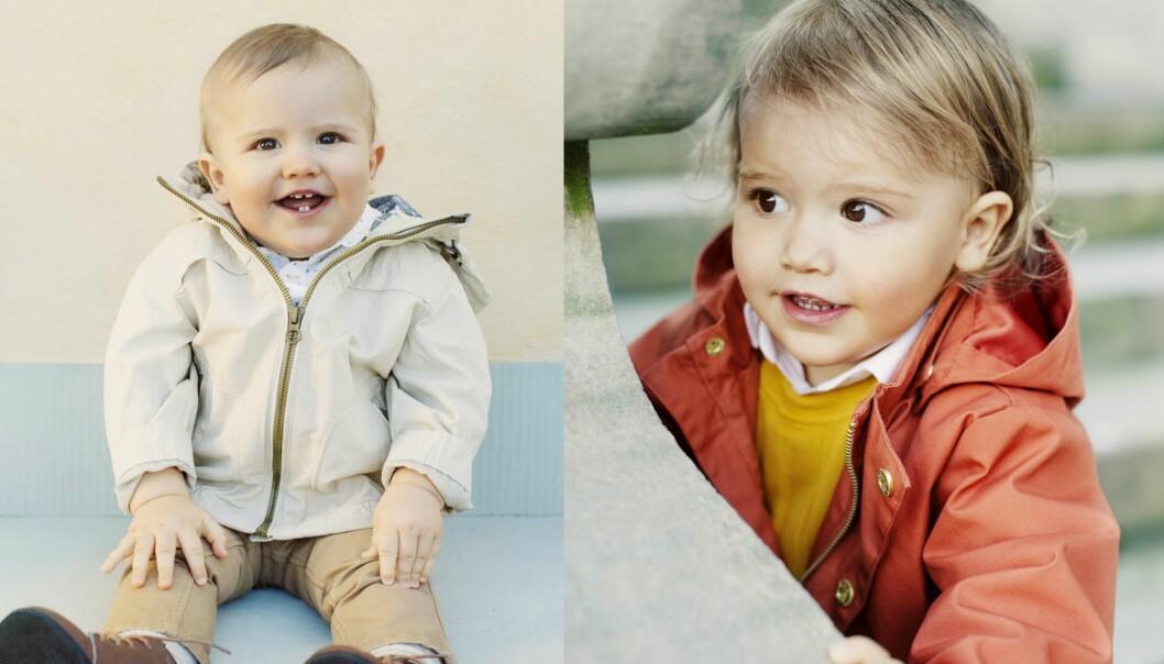 <strong>VOKST:</strong> Bildet til venstre ble tatt i fjor, i forbindelse med prins Alexanders første bursdag. Det til høyre ble tatt forrige uke. Det er ingen tvil om at den vesle prinsen har blitt stor. Foto: Erika Gerdemark / Kungahuset