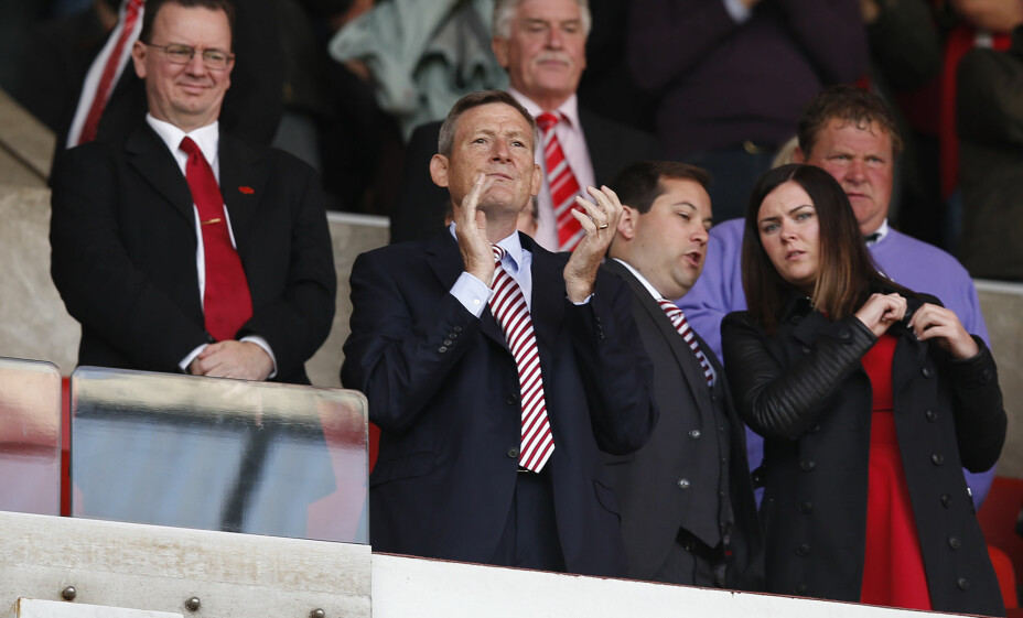 SJELDENT SYN: Sunderland-eier Ellis Short på Stadium of Light. Foto: Reuters / Andrew Yates / NTB Scanpix