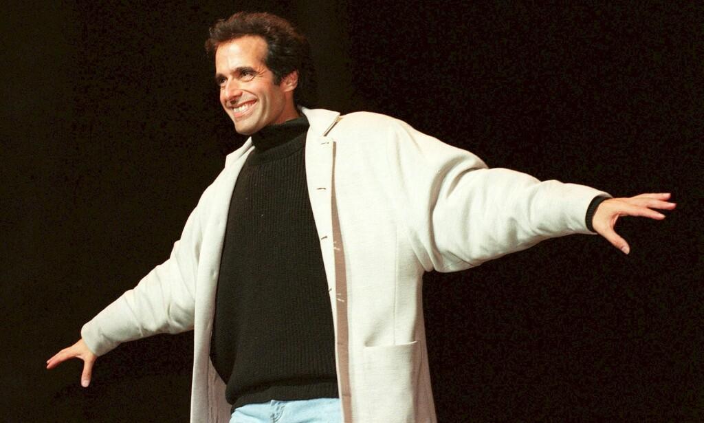 VERDENSKJENT: David Copperfield er kjent verden over for sine illusjonstriks. Foto: NTB Scanpix