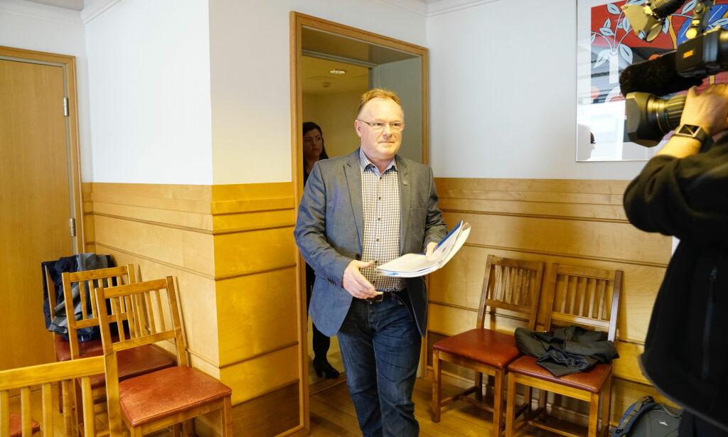 image: Fiskeriminister Per Sandberg om kontakt med lobbyist: - Alle har rett til å snakke med politikere