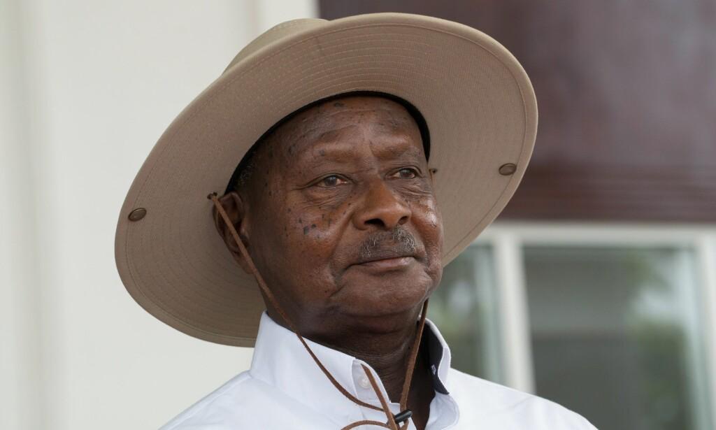 VIL FORBY ORALSEX: Ugandas president Yoweri Museveni mener munnen er til for å spise.
