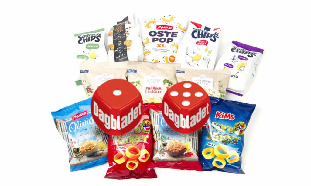 NYHETER: Det er mye bra å velge mellom i årets nye snacks, men ikke alt falt i like god smak.