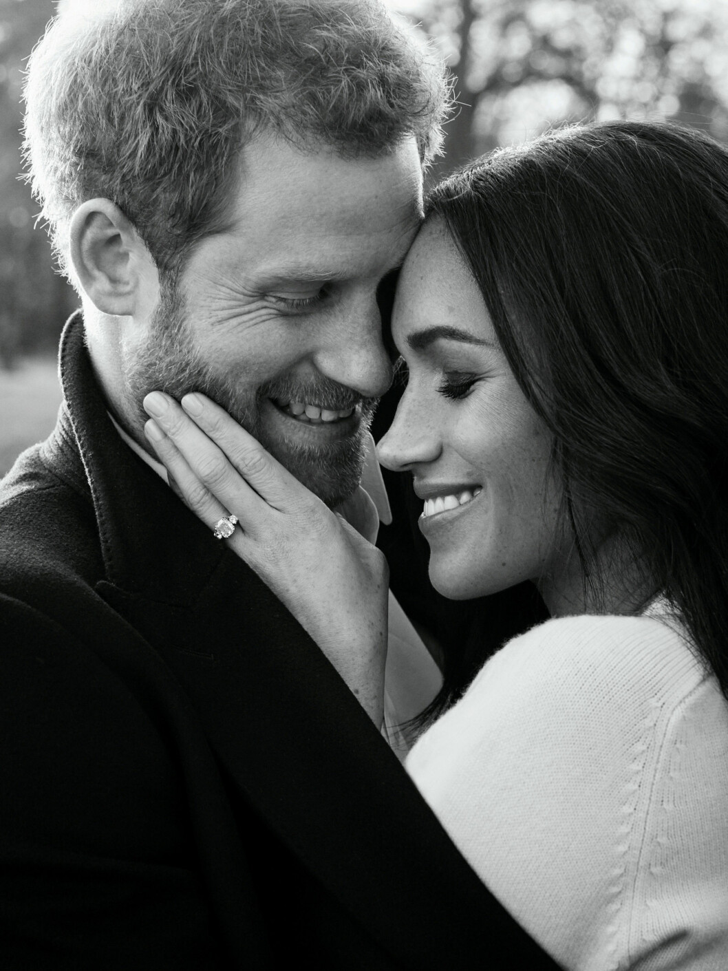 FORLOVET: Meghan Markle og prins Harry ble forlovet i november 2017. FOTO: NTB Scanpix