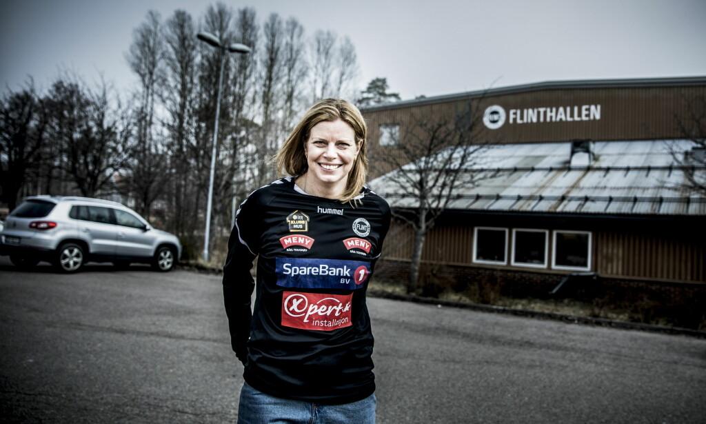 OPPRYKK: Tonje Larsens første sesong som Flint-trener må sies å være en suksess. Foto: Christian Roth Christensen / Dagbladet