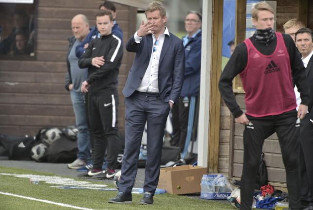 STOLT TRENER: Steffen Iversen var stolt over lagets prestasjoner. Foto: Hans Arne Vedlog / Dagbladet