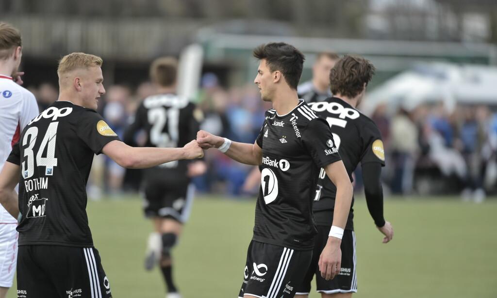 LEVERTE: Rafik Zekhnini var god for Rosenborg og scoret ett mål. Foto: Hans Arne Vedlog / Dagbladet