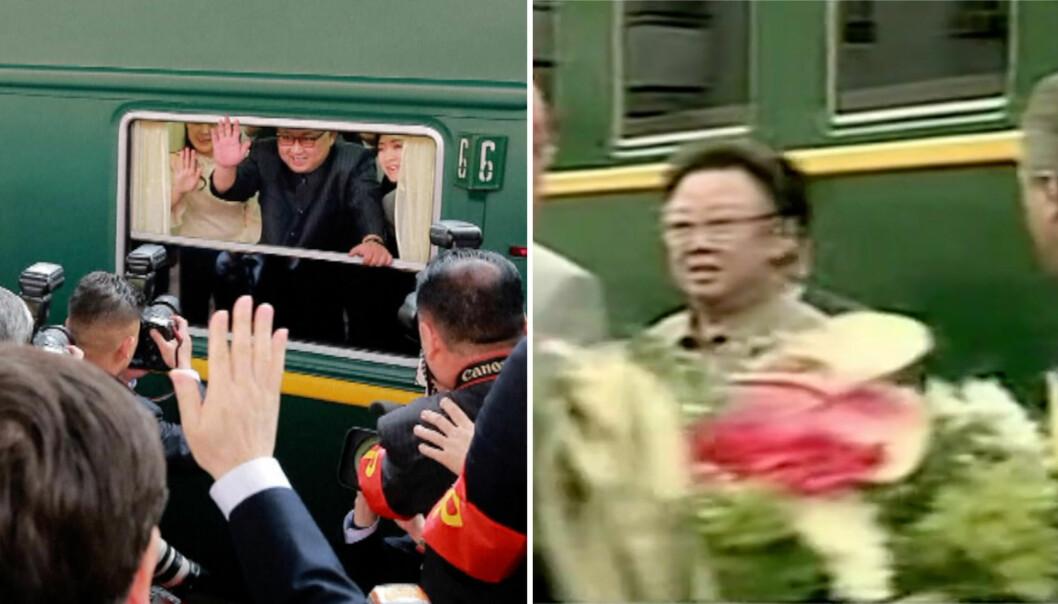 Nå er en av mytene om Kims luksustog knust