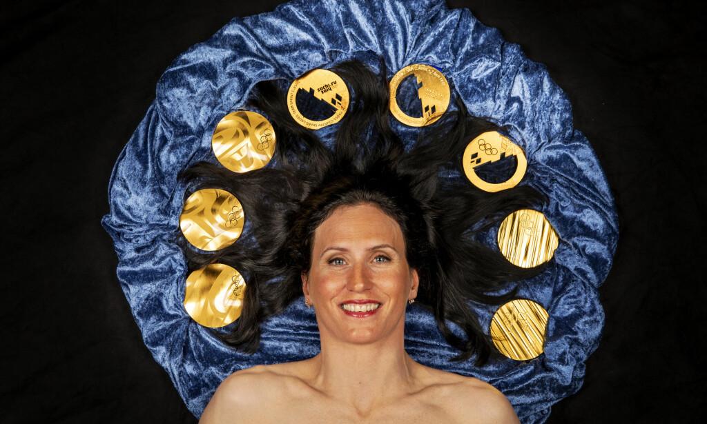 ALLER BEST: Marit Bjørgen er tidenes mestvinnende vinterolympier med 15 medaljer i OL; åtte av dem gull. Fordi norsk idrettskultur er så nær knyttet til OL, har idrettslederne våre et spesielt ansvar for å stå opp mot svindelen. Det gjorde de ikke før det avgjørende WADA-møtet om Russland sist uke. FOTO: Tore Meek / NTB scanpix.