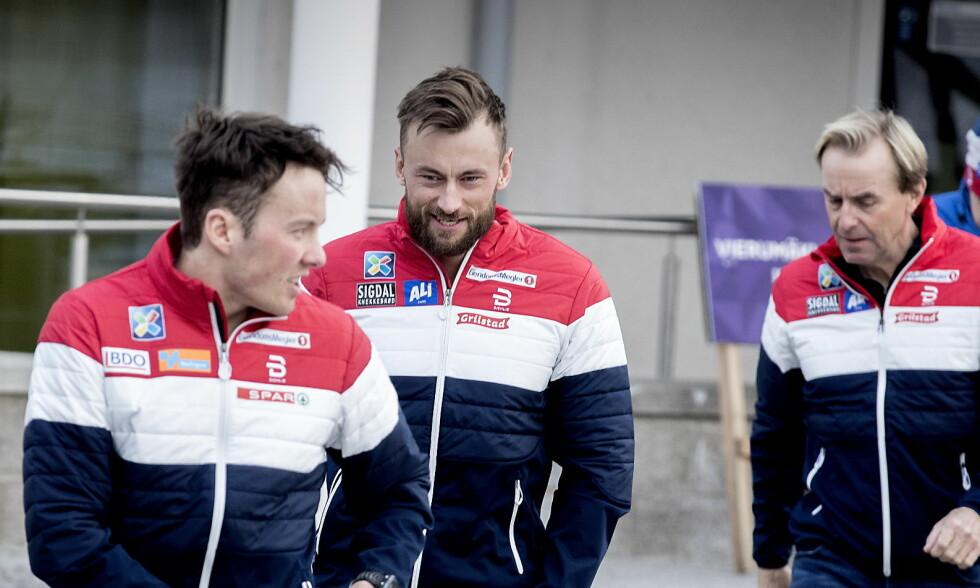 TILBAKE: Petter Northug er en del av landslaget for første gang på fem år. Foto: Bjørn Langsem / Dagbladet