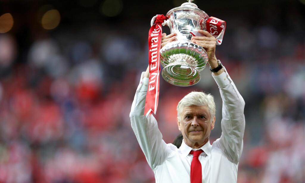 SLUTT: Arsenal-manager Arsene Wenger slutter etter sesongen. Foto: NTB Scanpix