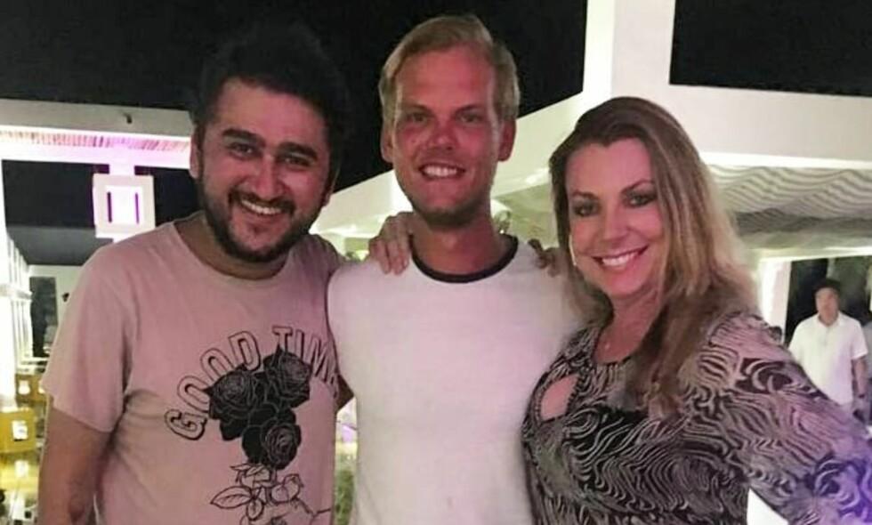 ET AV DE SISTE BILDENE: Avicii befant seg i Midtøsten, i Omans hovedstad Muscat, da han ble funnet død fredag ettermiddag lokal tid. Her er han avbildet ved et av byens hoteller forrige helg. Foto: Muscat Hills Resort / Instagram