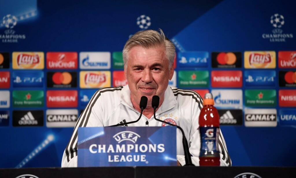 ARSENAL-AKTUELL? Carlo Ancelotti ville i alle fall syntes at det hadde vært veldig stas. Foto: AFP PHOTO / CHRISTOPHE SIMON