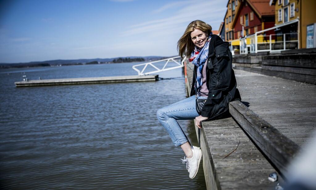 HJEMMEKJÆR: Med unntak av et lite opphold i Viborg, har Tonje Larsen holdt seg nær hjembyen Tønsberg. Foto: Christian Roth Christensen / Dagbladet