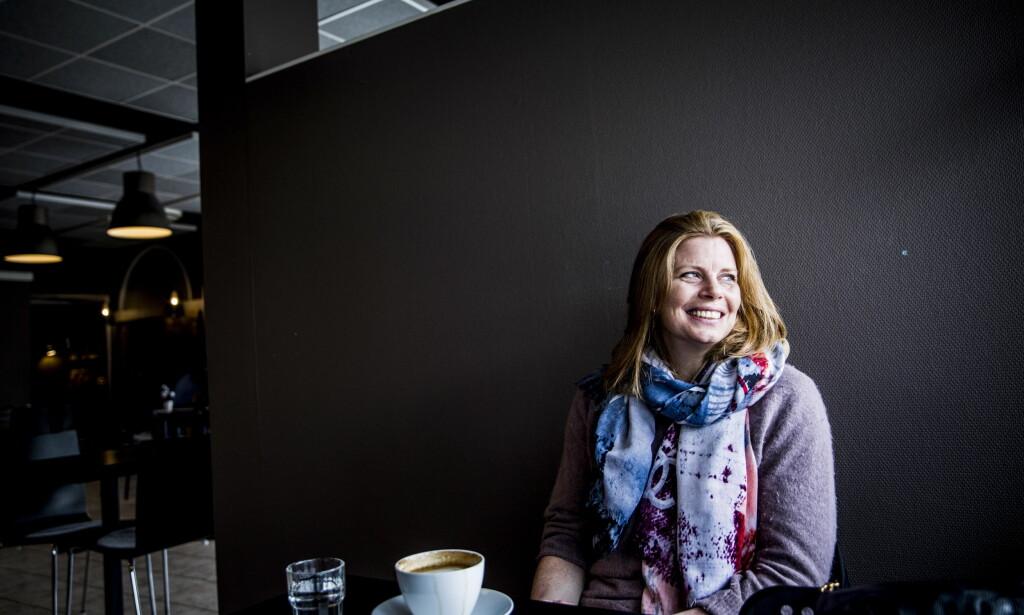 HELDIG: Tonje Larsen forteller at hun var heldig som slapp unna med relativt få skader. Hun merker i alle fall ikke noe til dem nå. Foto: Christian Roth Christensen / Dagbladet