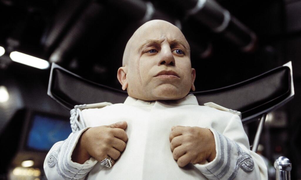 KJENT FIGUR: Verne Troyer i rollen som «Mini-Me». Foto: NTB Scanpix