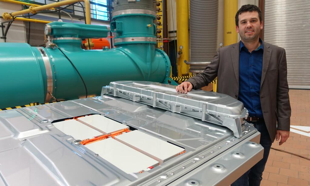 KJENT TEKNOLOGI: Johannes Foth bekrefter totalkapasiteten. Foto: Fred Magne Skillebæk