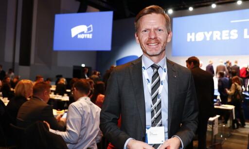 MOT FORBUD: Høyres Tage Pettersen ønsker lisensordning framfor forbud for nettgamblinselskapene. Foto: Terje Pedersen / NTB Scanpix