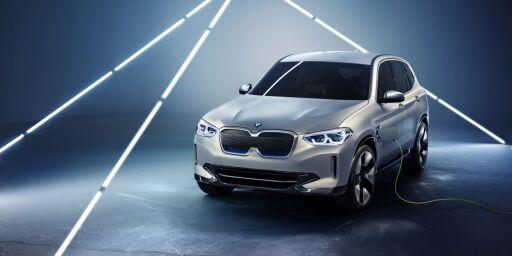 image: Dette er BMWs første el-SUV