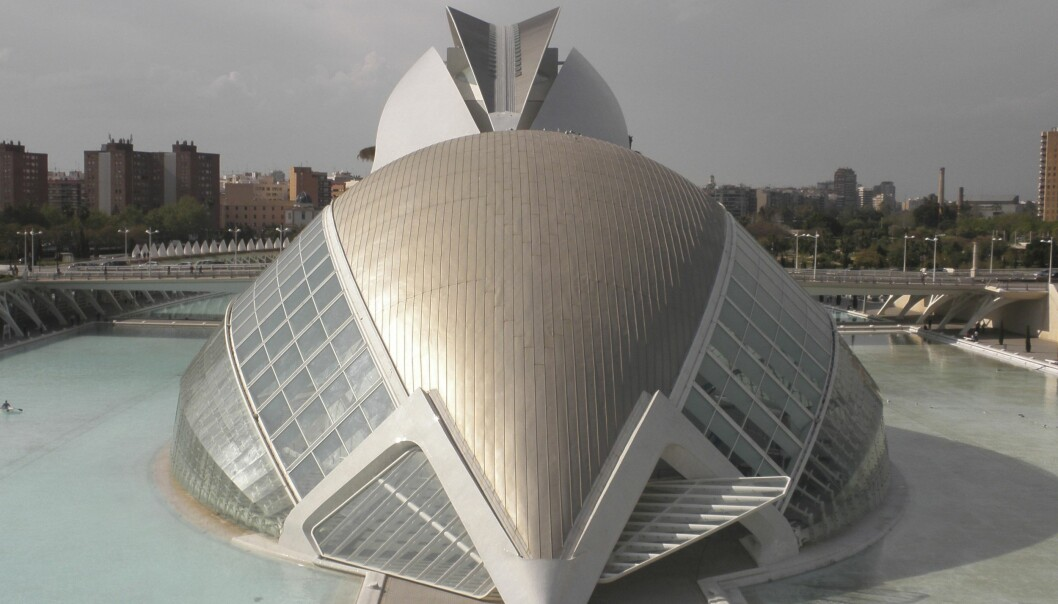 <strong>KULTURELT:</strong> Området i nedre del av Turia-parken er blit omgjort til opera, museum og oseanografi.