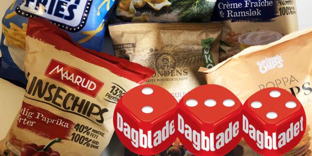 image: Ernæringstest av sunn snacks:Mer enn potetgull