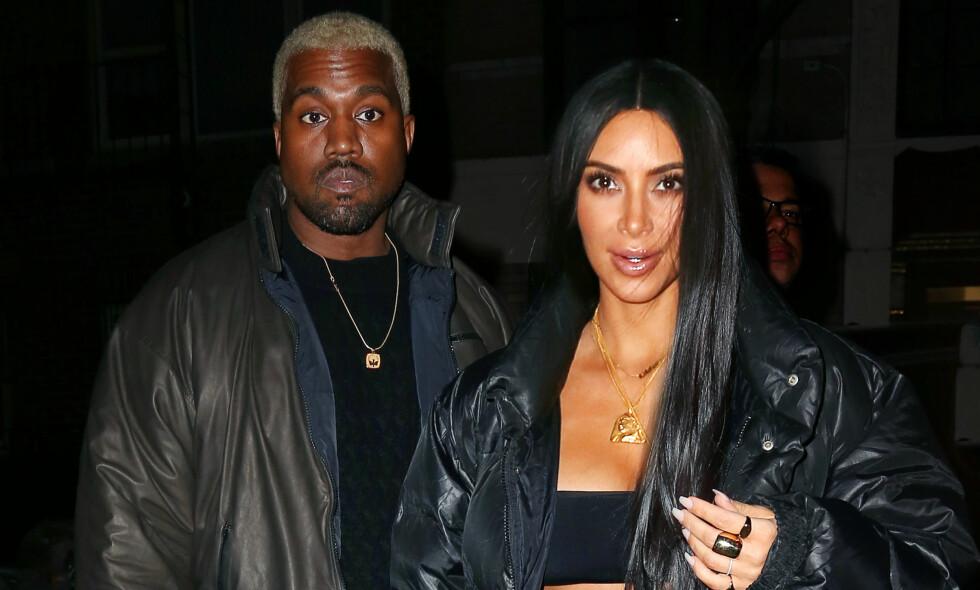 VIL VISE STØTTE: Kim Kardashian skal ha gjort alt i sin makt for å vise støtte til ektemannen den siste tiden. Foto: NTB scanpix