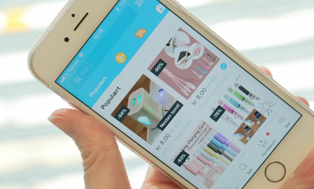 image: Ikke trygt å kjøpe mobillader på Wish