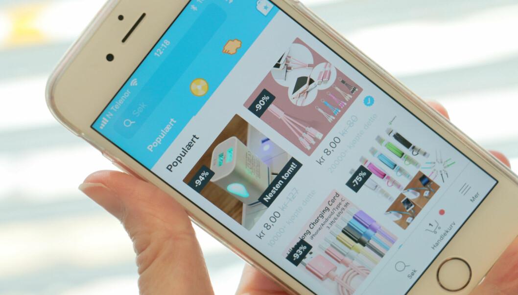 Ikke trygt å kjøpe mobillader på Wish